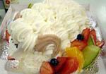 羊のケーキ