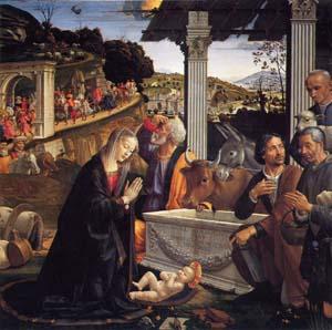 ギルランダイオ 「キリストの降誕」