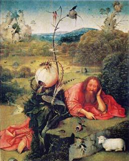 荒野の洗礼者ヨハネ