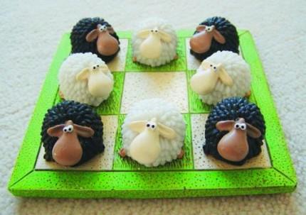 羊を駒に楽しめるゲーム