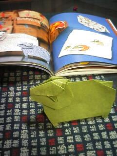 ひつじ折り紙