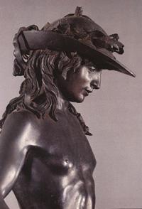 ドナテッロのダヴィデ像(頭部)