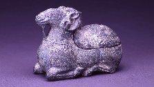 青銅羊形轆轤(ろくろ)灯