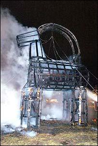 1966年以来ヤギは22回全焼しています