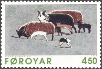 ヤヌス・カンバンによる切手