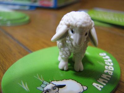 子羊フィギュア
