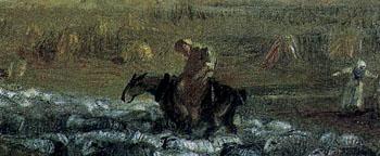 「ヴァレ・クルージス修道院、デンビシャー」(部分)