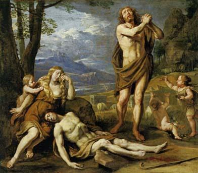 シャンパーニュ 「アベルの死の哀悼」