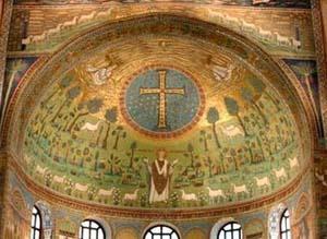 聖アポリナリスのモザイク