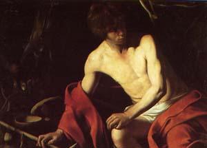 カラヴァッジオ「洗礼者聖ヨハネ」