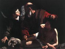 「イサクの犠牲」 カラヴァッジオ