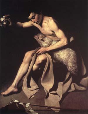カラヴァッジオ「洗礼者ヨハネ」
