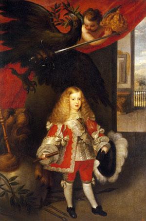 「幼年時代のカルロス2世の肖像」