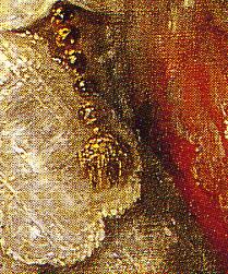 「幼年時代のカルロス2世の肖像」(部分)