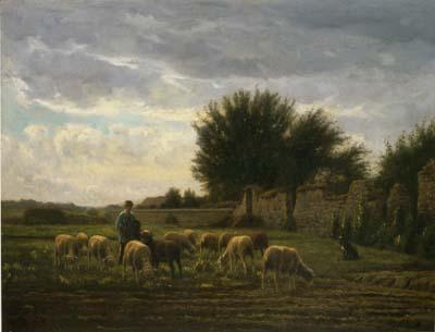 シェノー 「バルビゾンの羊飼い」