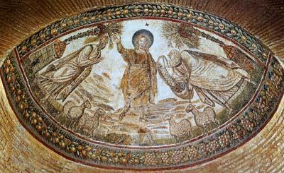「ペテロとパウロの間に立つキリスト」