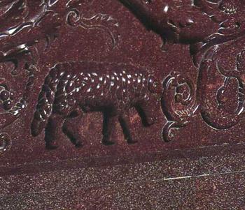 コンスタンティナの石棺(部分)