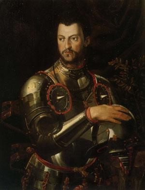 「コジモ1世の肖像」