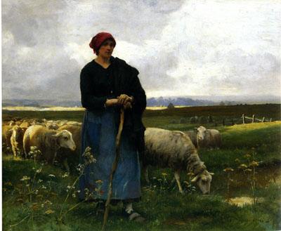 「羊飼いの女」