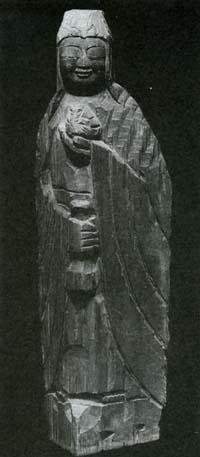 円空仏 菩薩像