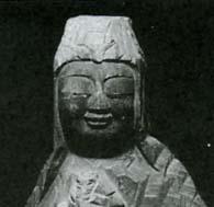 菩薩像 頭部