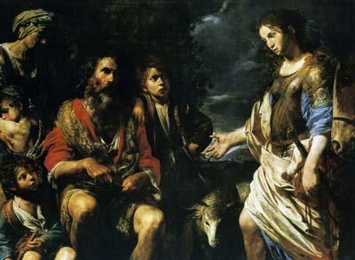 「エルミニアと羊飼い」