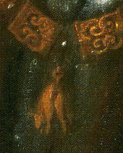 「フェリペ2世の肖像」(部分)