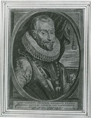 ピーテル・デ・ヨーデ「アンブロジオ・スピノラの肖像」