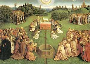 ヘント祭壇画 「神秘の仔羊」