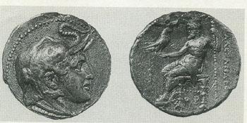 アレクサンドロスの銀貨