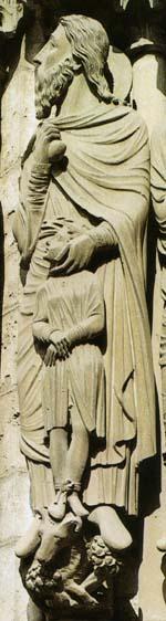 イサクとアブラハムと牡羊