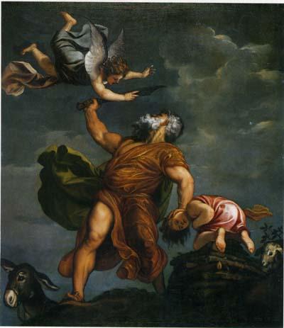 ティツィアーノ「イサクの犠牲」