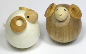 起き上がり羊