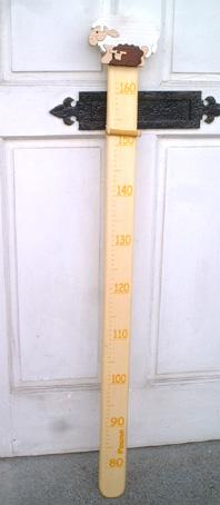 ハンガリーFauna製 身長計 ひつじ