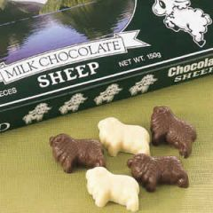 ひつじチョコレート 白黒