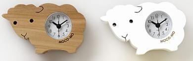ひつじ置き時計/温湿度計