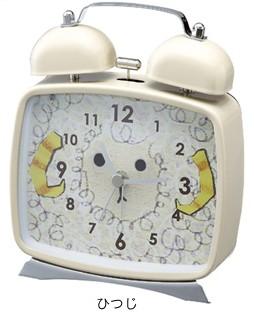目覚まし時計 アニマルクロック ひつじ