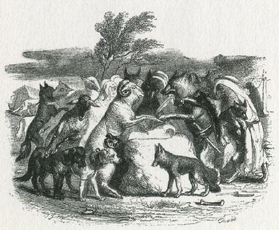 「狼と羊たち」