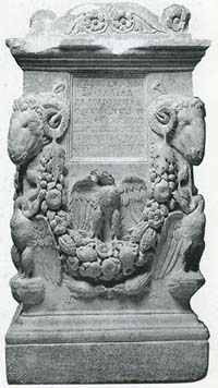 クィントゥス・ファビウス・ディオゲネスの墓石