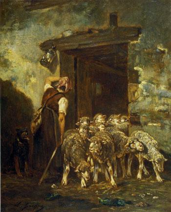 「羊小屋」