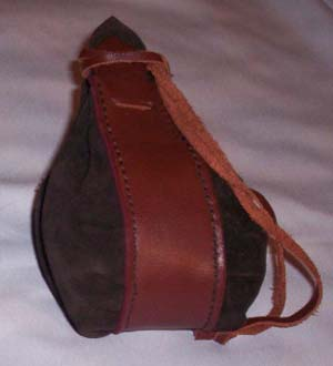 Large Suede purse