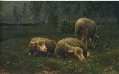 ジャック 「羊のいる風景」