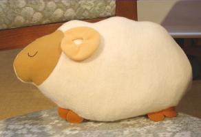 羊のふわふわ枕
