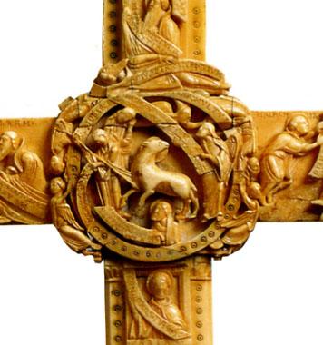 祭壇用十字架(部分)
