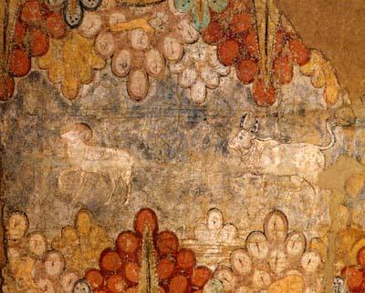 黄道十二宮壁画