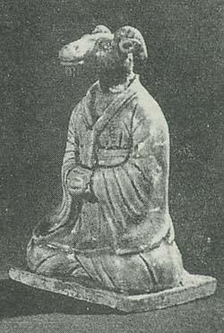 四川万県唐墓十二支俑