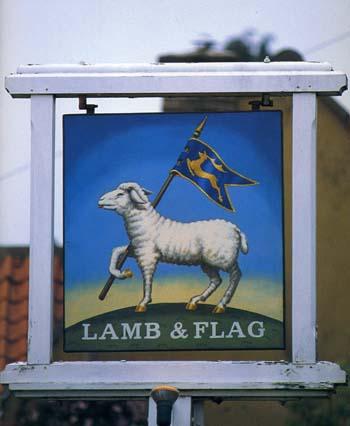 「子羊と旗亭」