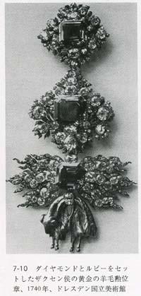ザクセン侯の金羊毛勲章