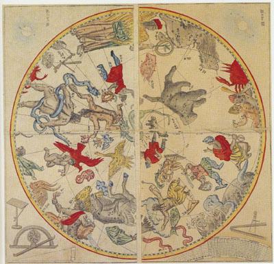 「天球図」
