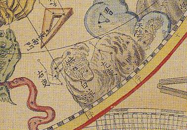 「天球図」(部分)